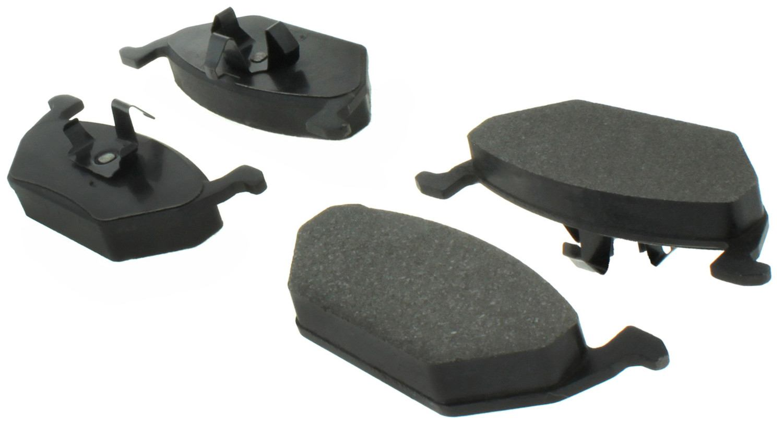 CENTRIC PARTS - Posi-Quiet Ceramic Disc Brake Pad w/Shims & Hardware-Preferred (Front) - CEC 105.07680