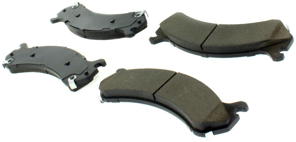 CENTRIC PARTS - Posi-Quiet Ceramic Disc Brake Pad w/Shims & Hardware-Preferred (Front) - CEC 105.07840