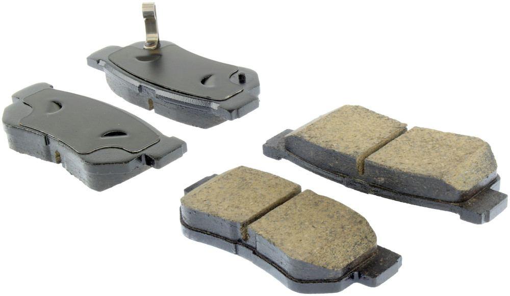 CENTRIC PARTS - Centric Posi-Quiet Ceramic Disc Brake Pad Sets (Rear) - CEC 105.08130