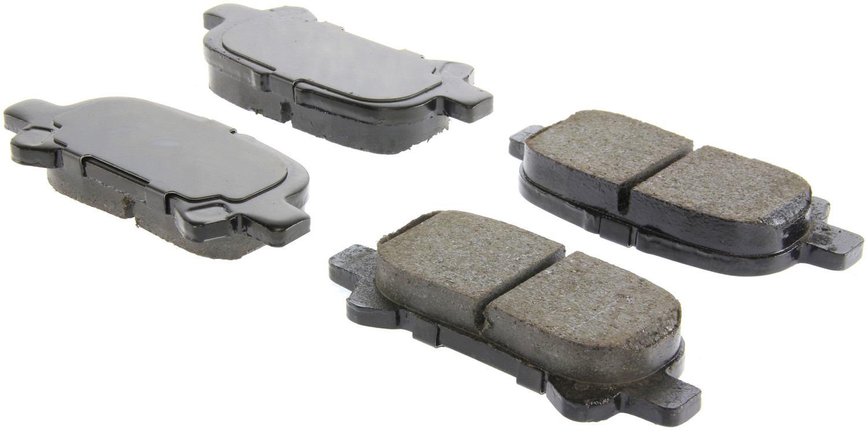 CENTRIC PARTS - Centric Posi-Quiet Ceramic Disc Brake Pad Sets (Rear) - CEC 105.08281