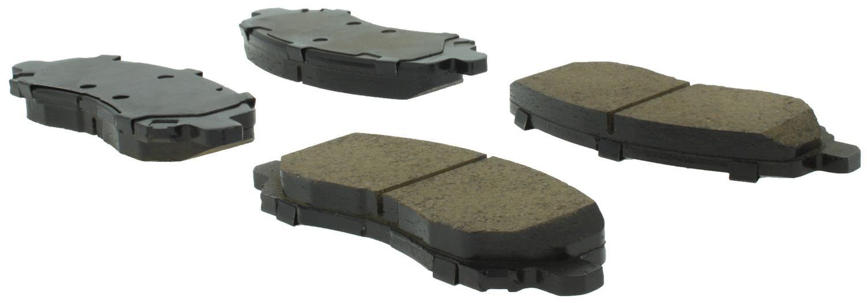 CENTRIC PARTS - Centric Posi-Quiet Ceramic Disc Brake Pad Sets (Front) - CEC 105.08660