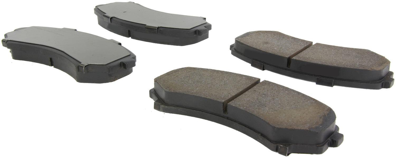 CENTRIC PARTS - Centric Posi-Quiet Ceramic Disc Brake Pad Sets (Front) - CEC 105.08670