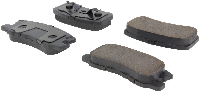 CENTRIC PARTS - Posi-Quiet Ceramic Disc Brake Pad w/Shims & Hardware-Preferred (Rear) - CEC 105.08680