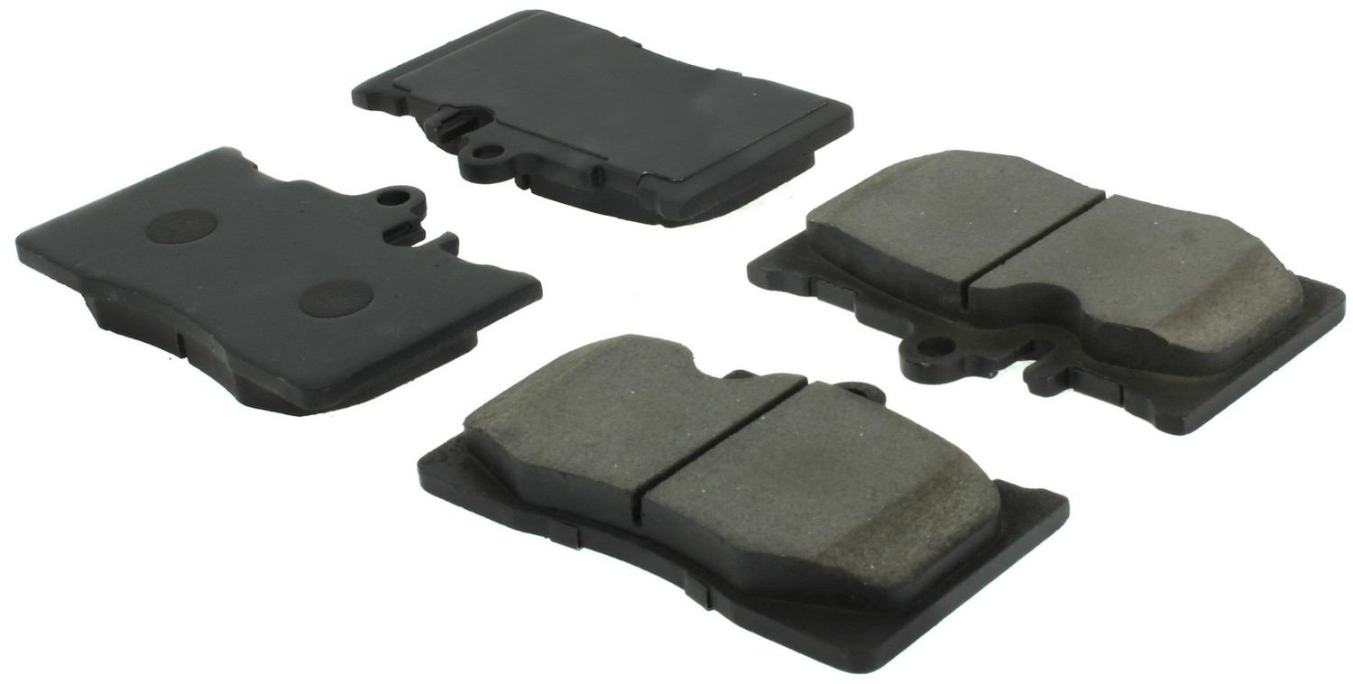 CENTRIC PARTS - Posi-Quiet Ceramic Disc Brake Pad w/Shims & Hardware-Preferred (Front) - CEC 105.08700