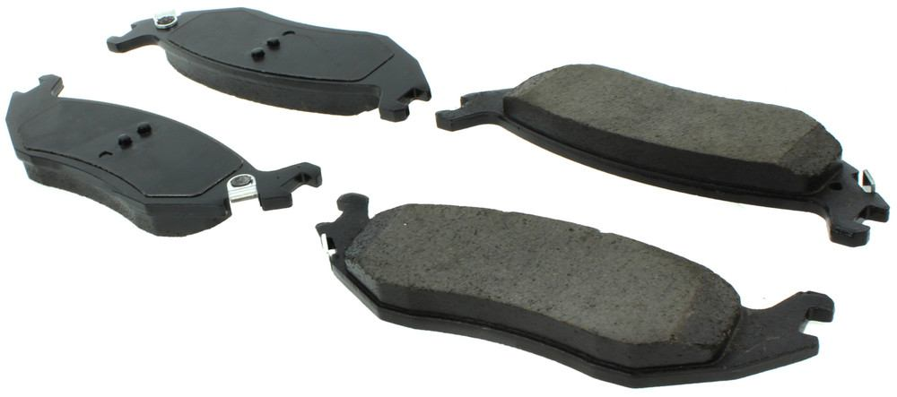 CENTRIC PARTS - Posi-Quiet Ceramic Disc Brake Pad w/Shims & Hardware (Rear) - CEC 105.08980