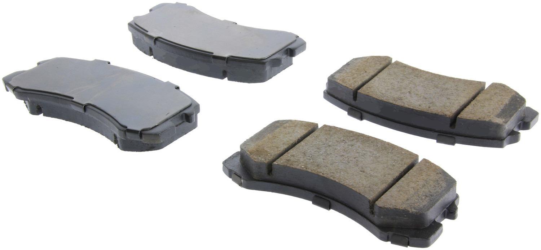 CENTRIC PARTS - Centric Posi-Quiet Ceramic Disc Brake Pad Sets (Front) - CEC 105.09040