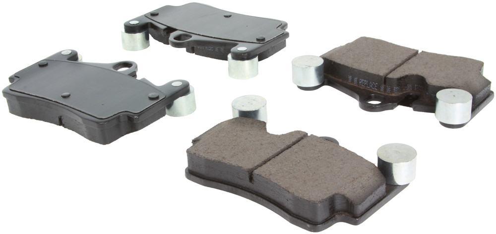 CENTRIC PARTS - Posi-Quiet Ceramic Disc Brake Pad w/Shims & Hardware (Rear) - CEC 105.09780