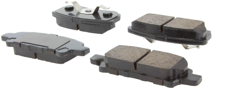 CENTRIC PARTS - Centric Posi-Quiet Ceramic Disc Brake Pad Sets (Rear) - CEC 105.10370
