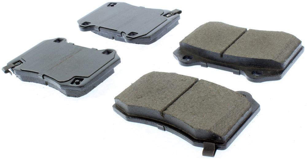 CENTRIC PARTS - Posi-Quiet Ceramic Disc Brake Pad w/Shims & Hardware-Preferred (Rear) - CEC 105.10530