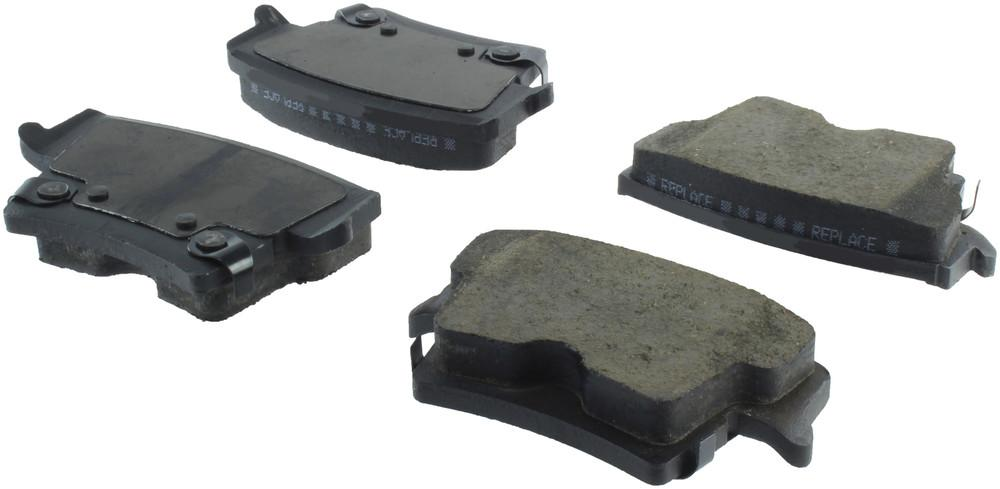 CENTRIC PARTS - Posi-Quiet Ceramic Disc Brake Pad w/Shims & Hardware-Preferred (Rear) - CEC 105.10570