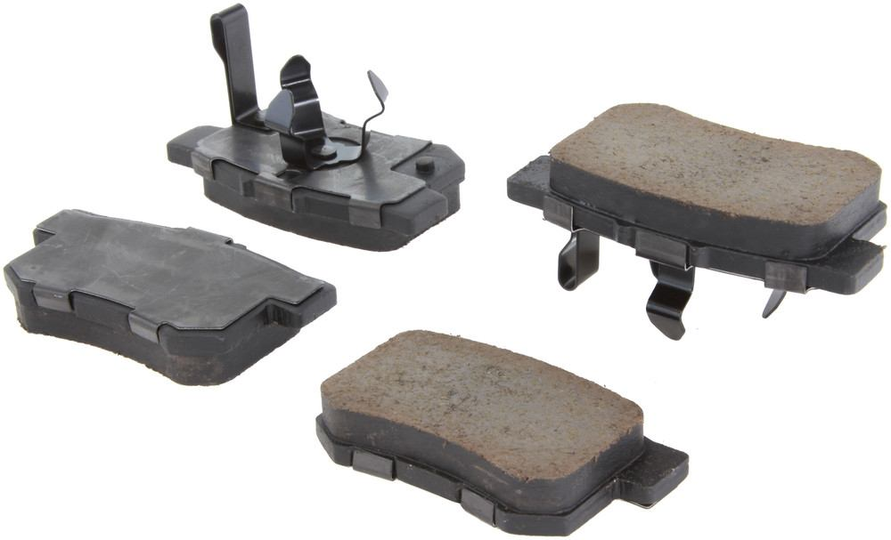 CENTRIC PARTS - Posi-Quiet Ceramic Disc Brake Pad w/Shims & Hardware-Preferred (Rear) - CEC 105.10860