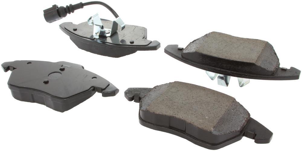 CENTRIC PARTS - Posi-Quiet Ceramic Disc Brake Pad w/Shims & Hardware-Preferred (Front) - CEC 105.11070