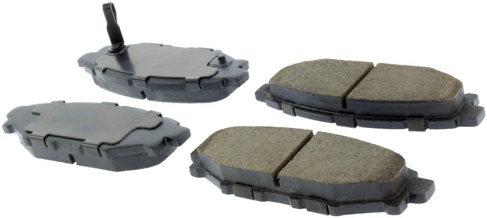 CENTRIC PARTS - Centric Posi-Quiet Ceramic Disc Brake Pad Sets (Rear) - CEC 105.11140