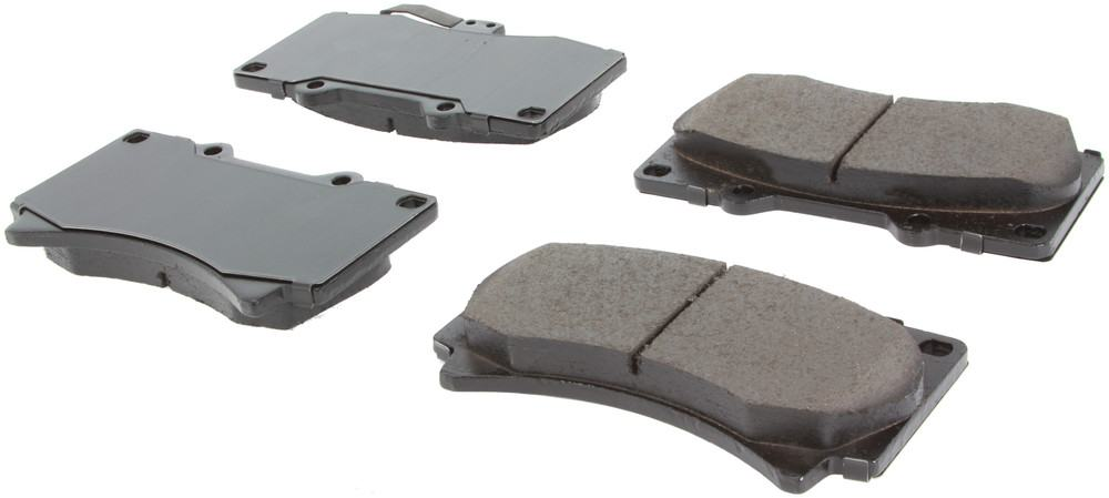 CENTRIC PARTS - Posi-Quiet Ceramic Disc Brake Pad w/Shims & Hardware-Preferred (Front) - CEC 105.11190