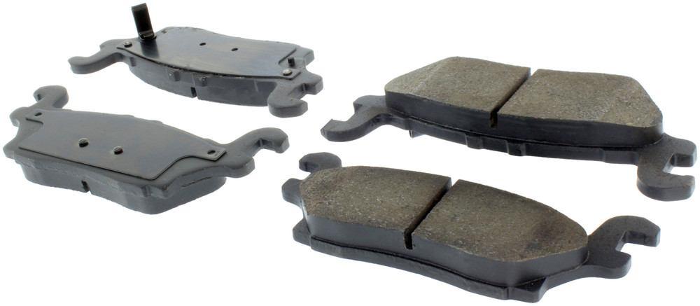 CENTRIC PARTS - Centric Posi-Quiet Ceramic Disc Brake Pad Sets (Rear) - CEC 105.11200