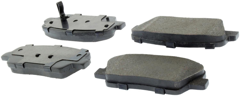 CENTRIC PARTS - Centric Posi-Quiet Ceramic Disc Brake Pad Sets - CEC 105.12840