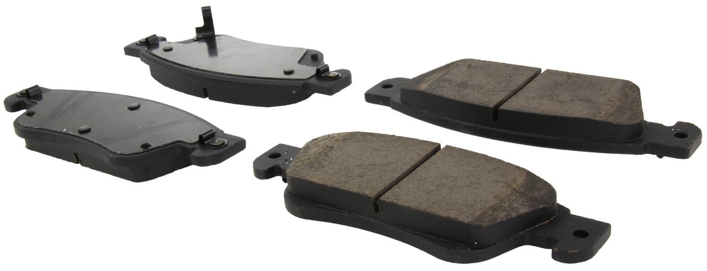 CENTRIC PARTS - Centric Posi-Quiet Ceramic Disc Brake Pad Sets (Front) - CEC 105.12870