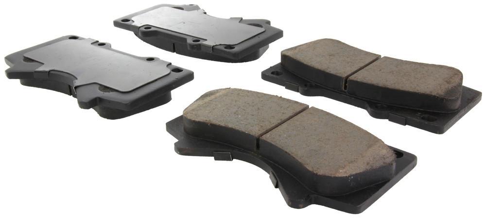 CENTRIC PARTS - Centric Posi-Quiet Ceramic Disc Brake Pad Sets (Front) - CEC 105.13030