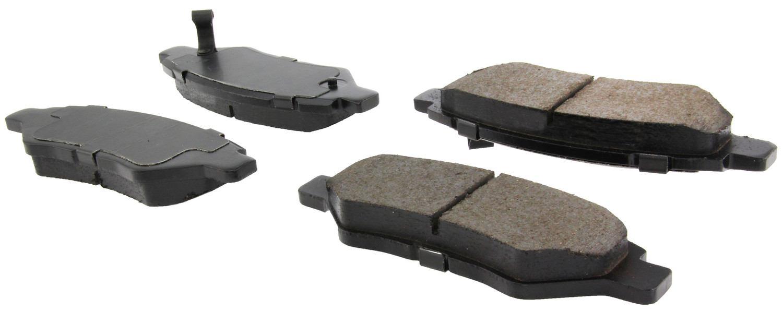 CENTRIC PARTS - Posi-Quiet Ceramic Disc Brake Pad w/Shims & Hardware-Preferred - CEC 105.13370