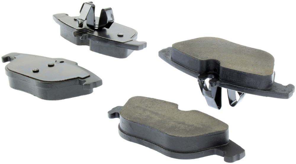 CENTRIC PARTS - Posi-Quiet Ceramic Disc Brake Pad w/Shims & Hardware-Preferred (Rear) - CEC 105.13410