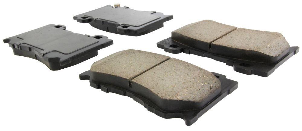 CENTRIC PARTS - Posi-Quiet Ceramic Disc Brake Pad w/Shims & Hardware-Preferred (Front) - CEC 105.13460