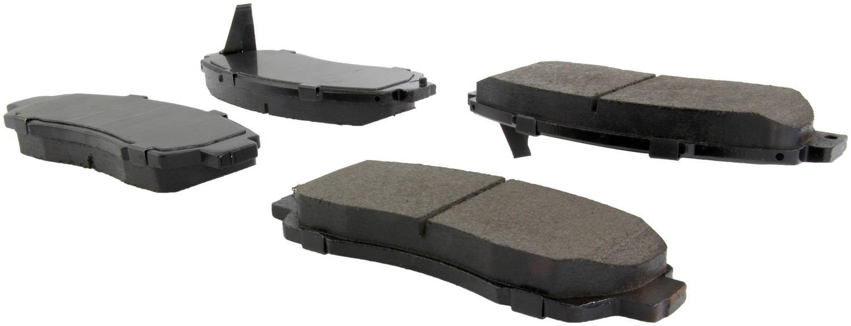 CENTRIC PARTS - Posi-Quiet Ceramic Disc Brake Pad w/Shims & Hardware-Preferred (Front) - CEC 105.15210