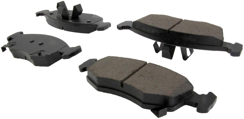 CENTRIC PARTS - Posi-Quiet Ceramic Disc Brake Pad w/Shims & Hardware-Preferred (Front) - CEC 105.15680