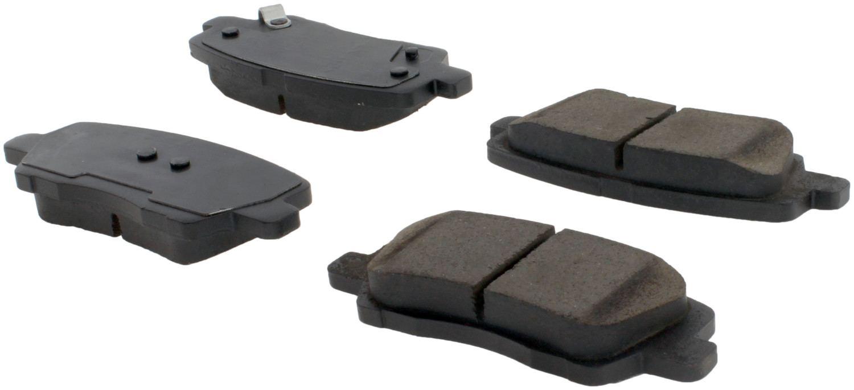CENTRIC PARTS - Posi-Quiet Ceramic Disc Brake Pad w/Shims & Hardware-Preferred (Rear) - CEC 105.16590