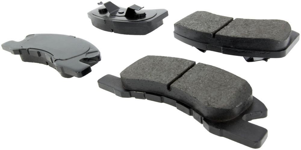 CENTRIC PARTS - Posi-Quiet Ceramic Disc Brake Pad w/Shims-Preferred (Front) - CEC 105.17310