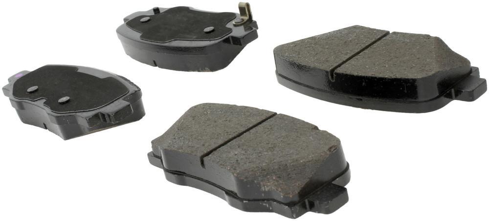 CENTRIC PARTS - Posi-Quiet Ceramic Disc Brake Pad w/Shims & Hardware-Preferred (Rear) - CEC 105.18090