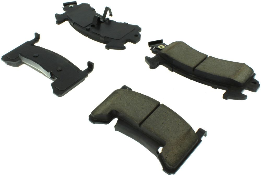 CENTRIC PARTS - Posi-Quiet Extended Wear Disc Brake Pad w/Shims & Hardware (Front) - CEC 106.01540