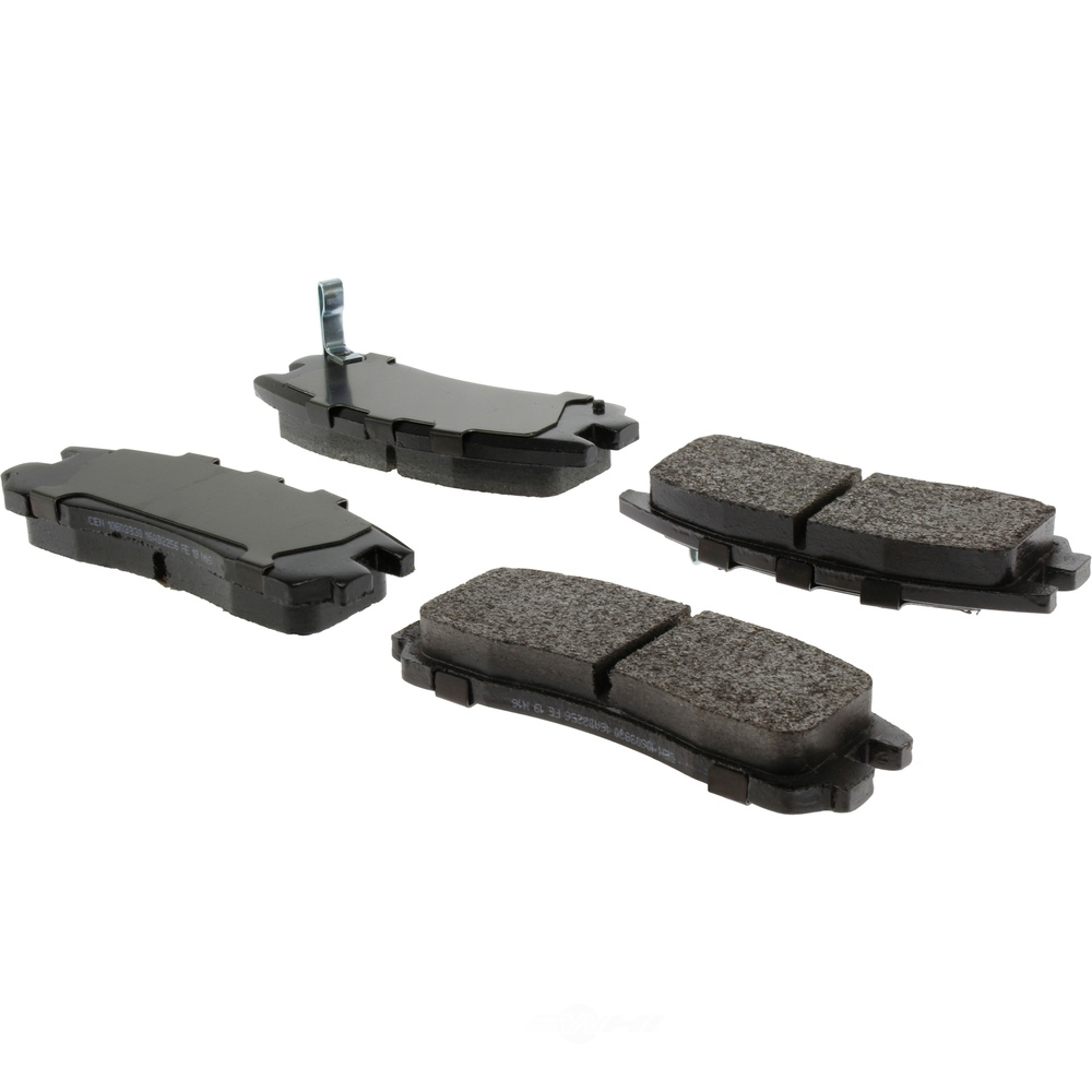 CENTRIC PARTS - Centric Posi-Quiet Extended Wear Semi-Metallic Disc Brake Pad Sets (Rear) - CEC 106.03830