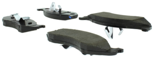 CENTRIC PARTS - Centric Posi-Quiet Extended Wear Semi-Metallic Disc Brake Pad Sets (Front) - CEC 106.04770