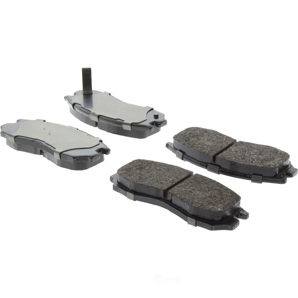 CENTRIC PARTS - Posi-Quiet Extended Wear Disc Brake Pad w/Shims & Hardware (Front) - CEC 106.04840