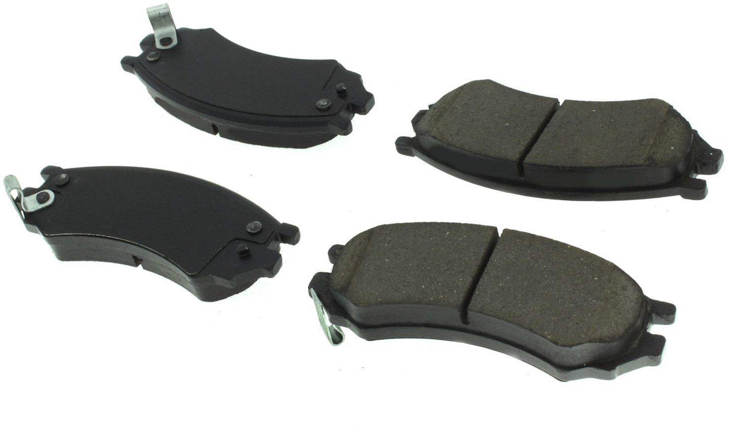CENTRIC PARTS - Posi-Quiet Extended Wear Disc Brake Pad w/Shims & Hardware (Front) - CEC 106.05070