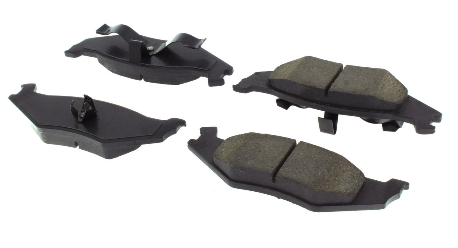 CENTRIC PARTS - Centric Posi-Quiet Extended Wear Semi-Metallic Disc Brake Pad Sets (Rear) - CEC 106.05120