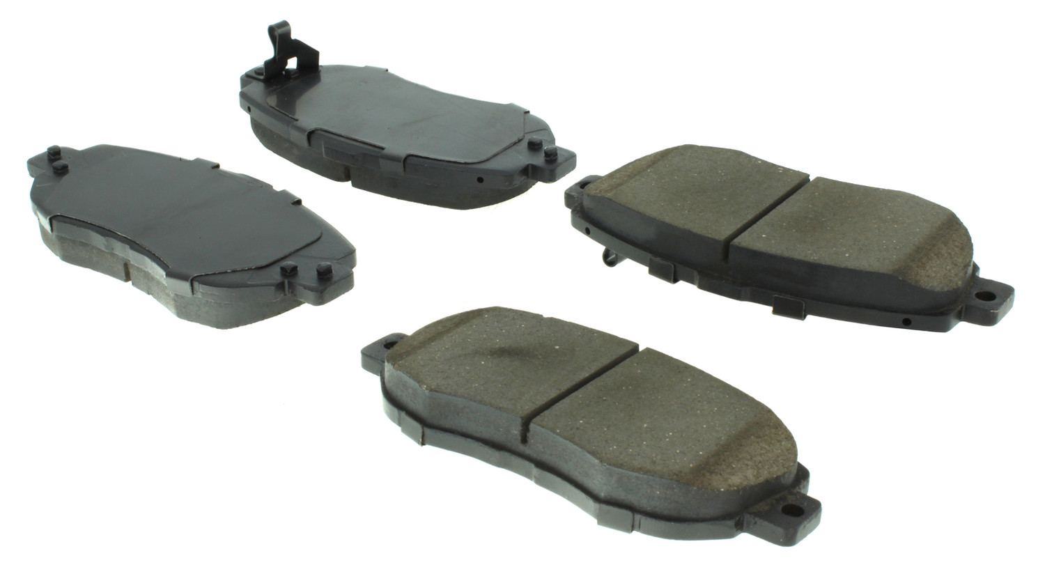 CENTRIC PARTS - Posi-Quiet Extended Wear Disc Brake Pad w/Shims & Hardware (Front) - CEC 106.06190