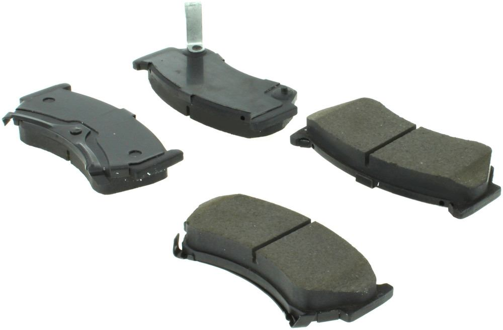 CENTRIC PARTS - Centric Posi-Quiet Extended Wear Semi-Metallic Disc Brake Pad Sets (Front) - CEC 106.06680
