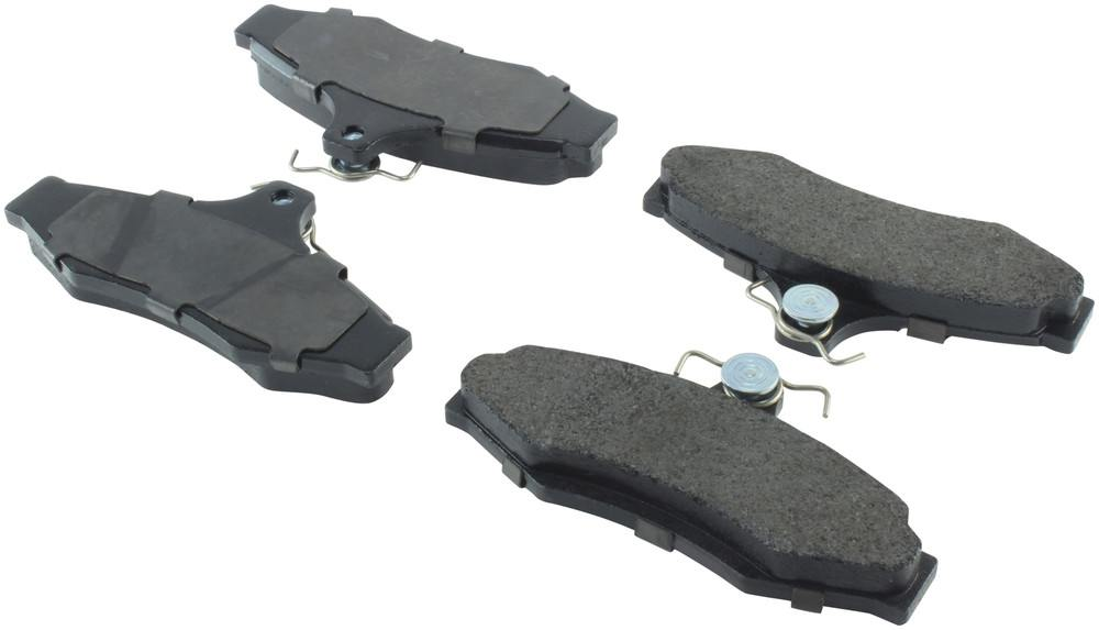 CENTRIC PARTS - Posi-Quiet Extended Wear Disc Brake Pad w/Shims-Preferred (Rear) - CEC 106.07240