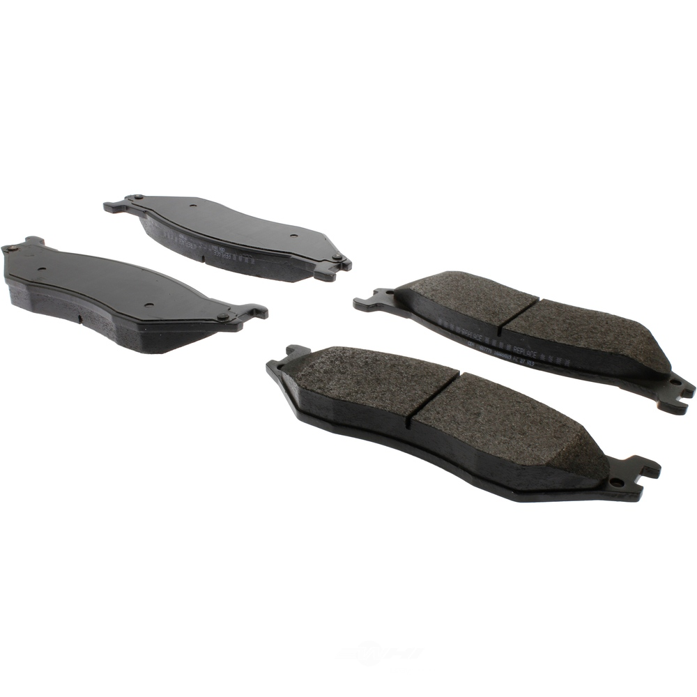CENTRIC PARTS - Posi-Quiet Extended Wear Disc Brake Pad w/Shims & Hardware-Preferred (Front) - CEC 106.07770