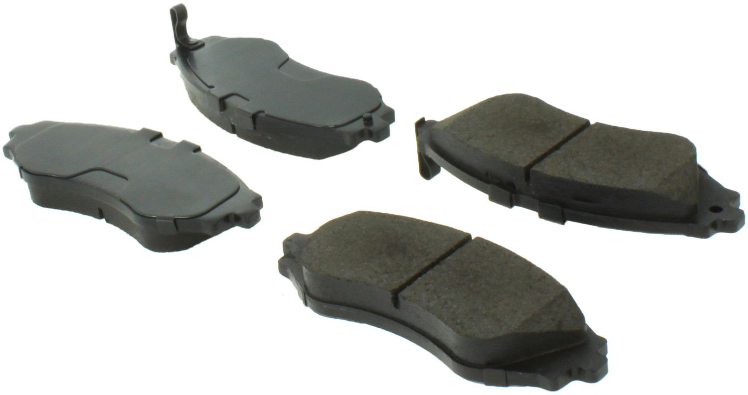 CENTRIC PARTS - Centric Posi-Quiet Extended Wear Semi-Metallic Disc Brake Pad Sets (Front) - CEC 106.07970