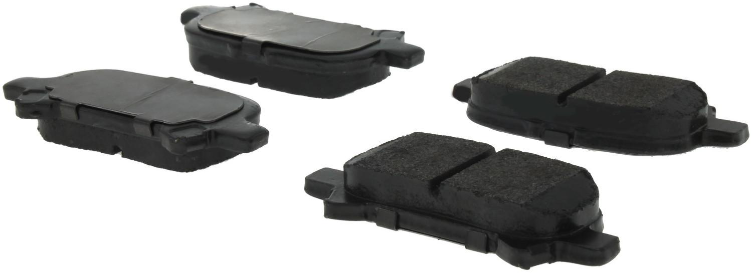 CENTRIC PARTS - Centric Posi-Quiet Extended Wear Semi-Metallic Disc Brake Pad Sets (Rear) - CEC 106.08281