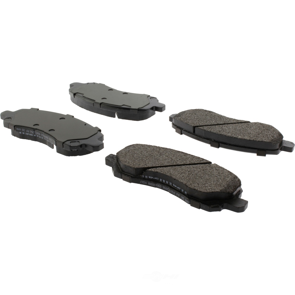 CENTRIC PARTS - Centric Posi-Quiet Extended Wear Semi-Metallic Disc Brake Pad Sets (Front) - CEC 106.08660