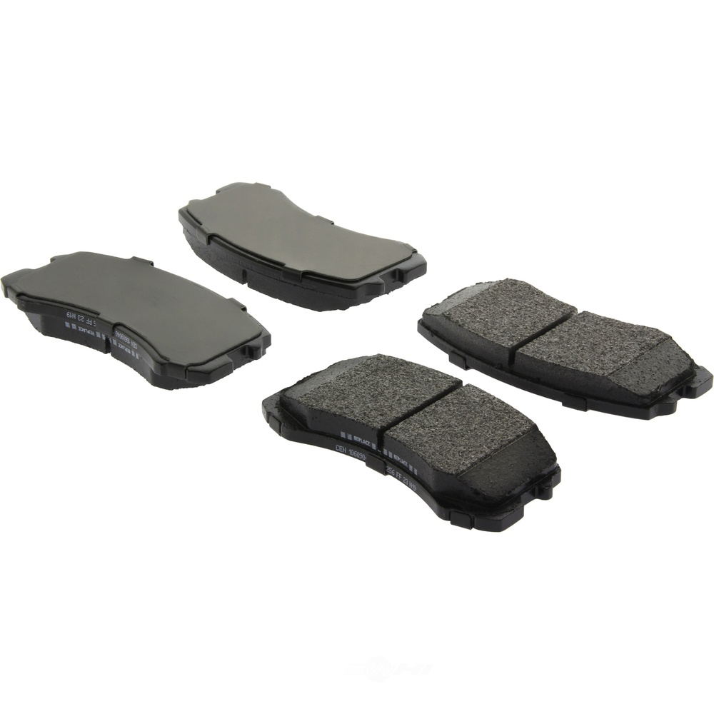 CENTRIC PARTS - Centric Posi-Quiet Extended Wear Semi-Metallic Disc Brake Pad Sets (Front) - CEC 106.09040