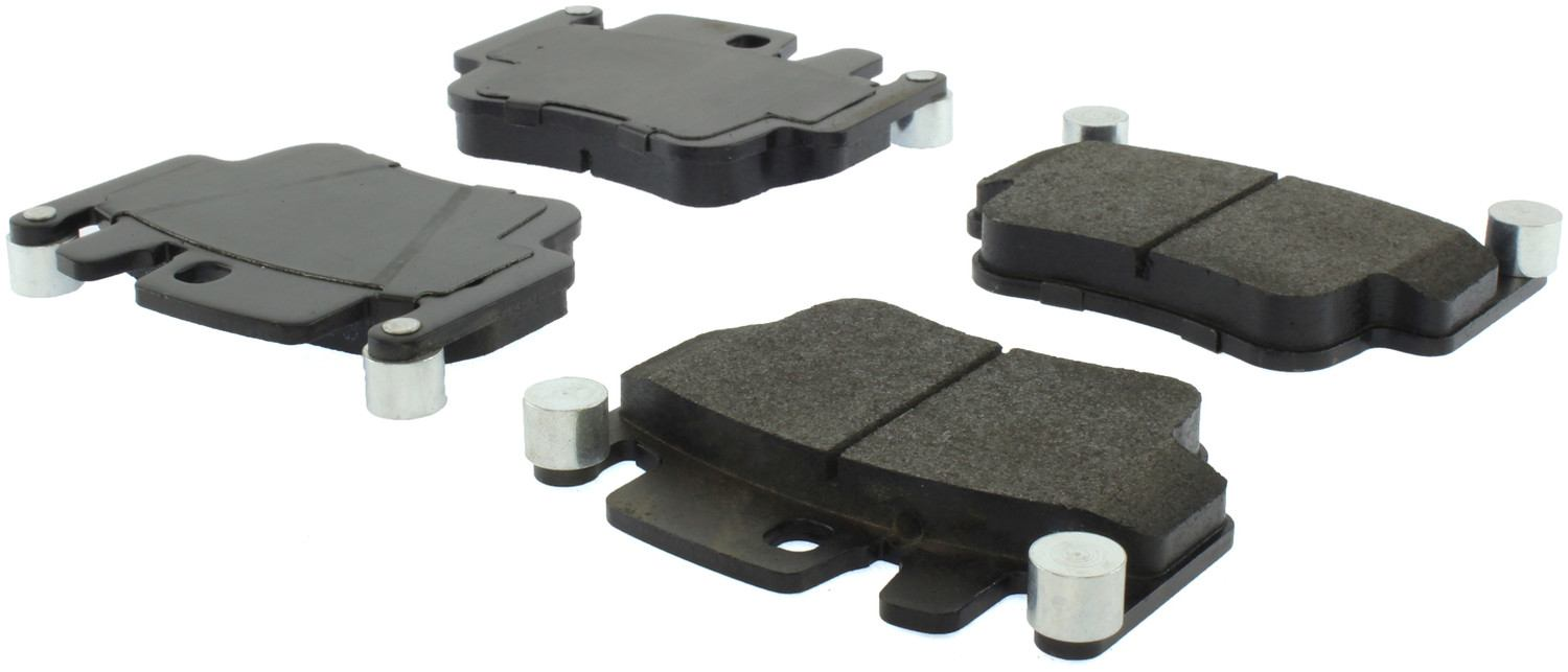 CENTRIC PARTS - Centric Posi-Quiet Extended Wear Semi-Metallic Disc Brake Pad Sets - CEC 106.09170
