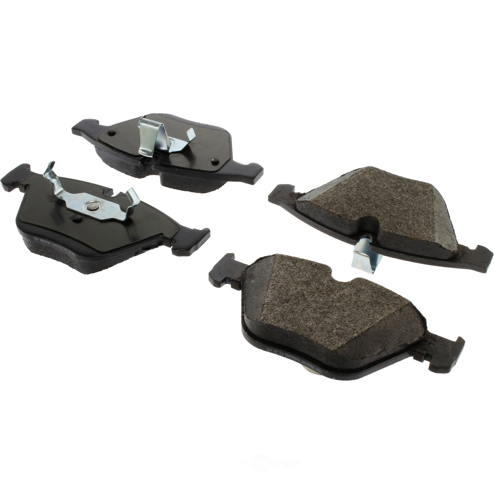 CENTRIC PARTS - Centric Posi-Quiet Extended Wear Semi-Metallic Disc Brake Pad Sets (Front) - CEC 106.09181