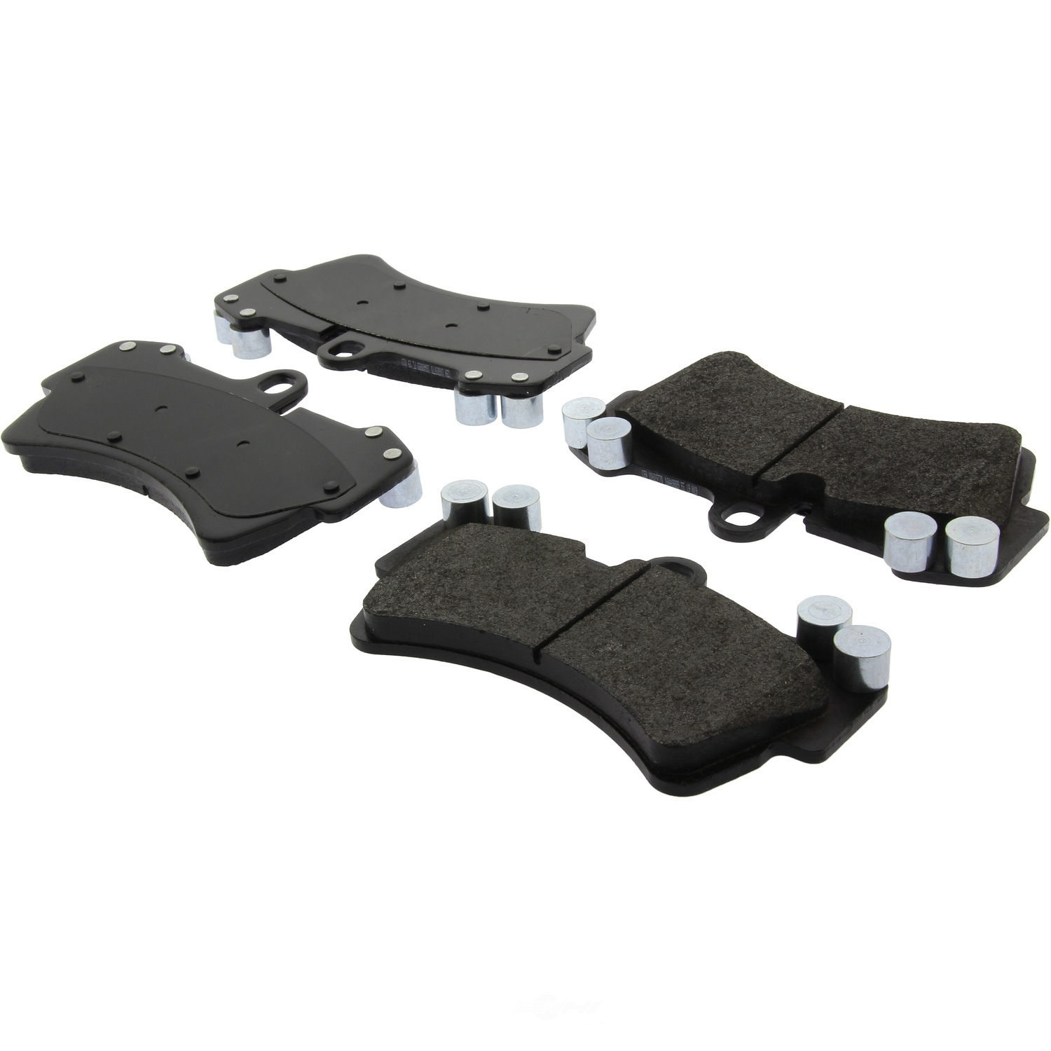 CENTRIC PARTS - Posi-Quiet Extended Wear Disc Brake Pad w/Shims & Hardware (Front) - CEC 106.09770