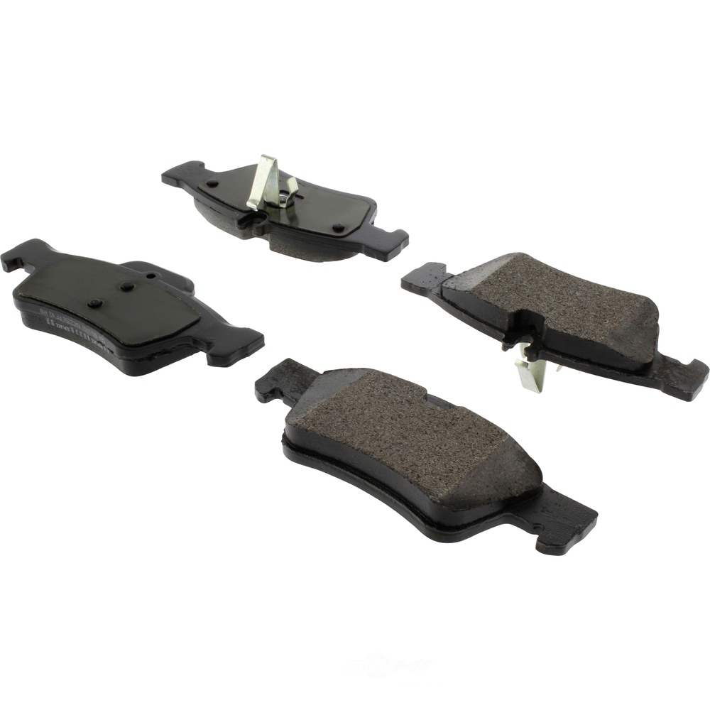 CENTRIC PARTS - Posi-Quiet Extended Wear Disc Brake Pad w/Shims & Hardware (Rear) - CEC 106.09860