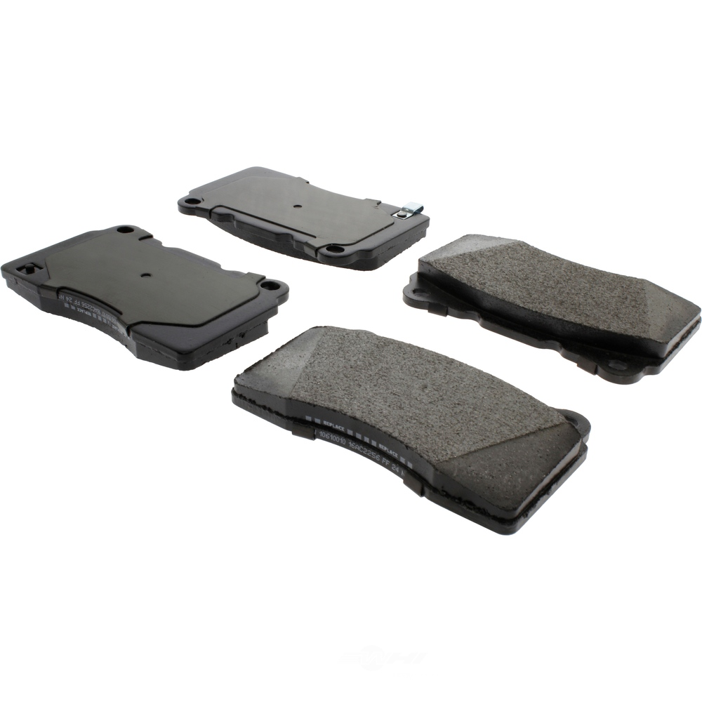 CENTRIC PARTS - Posi-Quiet Extended Wear Disc Brake Pad w/Shims-Preferred (Front) - CEC 106.10010