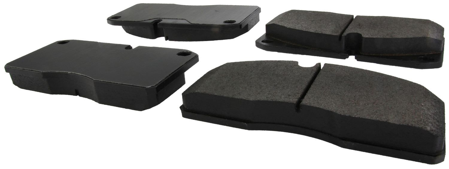 CENTRIC PARTS - Posi-Quiet Extended Wear Disc Brake Pad w/Shims-Preferred - CEC 106.10270